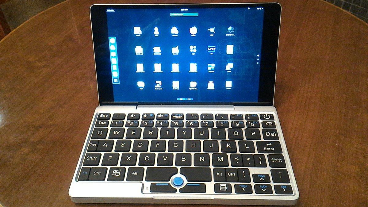 新世代7インチUMPC Cherry-Trail #GPD-Pocket openSUSE